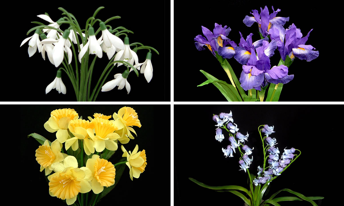 artificial flowers image